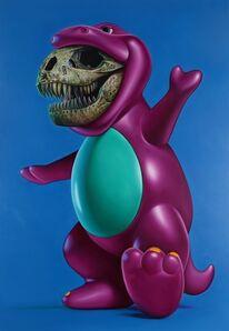 Ron English, 'Purple Dinosaurus', 2010