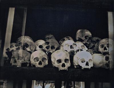 Binh Danh, 'Skulls at Choeung Ek Genocidal Center', 2017