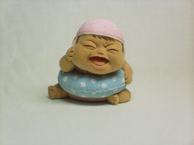 Miki NAGASAKI, 'Swimming Aa-chan', 2009