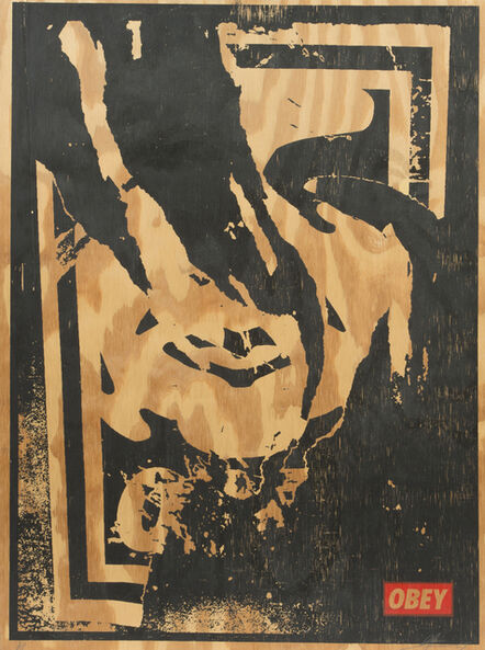 Shepard Fairey, 'Obey ripped', 2001