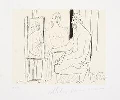 Pablo Picasso, 'Le Peintre et son Modèle, 1930', 1979-1982