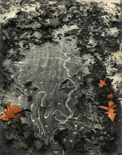 Josef Breitenbach, 'Abstraction (Thin Ice In The Woods)', 1946