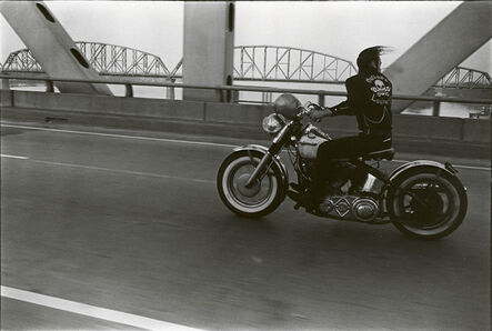 Danny Lyon, 'Crossing the Ohio, Louisville', 1966
