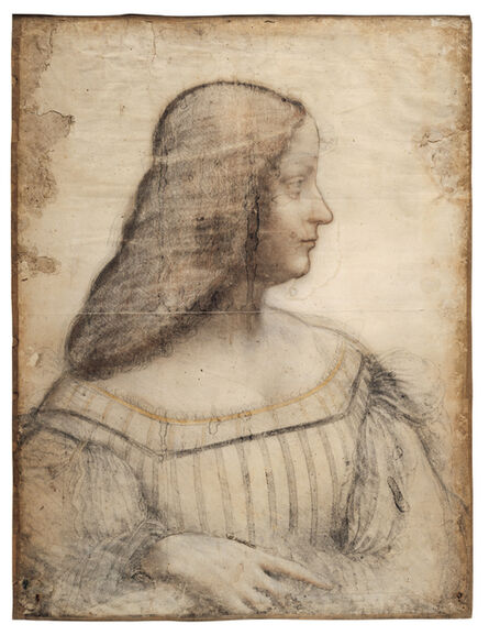 Leonardo da Vinci, 'Portrait d'Isabelle d'Este (Portrait of Isabella d'Este)', 1499-1500
