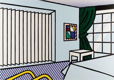 Roy Lichtenstein, 'Roy Lichtenstein, Bedroom, from Interior Series, 1990', 1990
