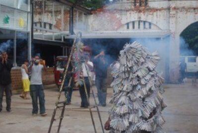 Bandu Manamperi, 'Highly Explosive (Performance Still)', 2010