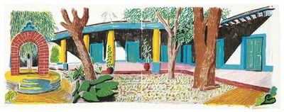 David Hockney, 'Hotel Acatlan: Second Day, from Moving Focus', 1984-1985