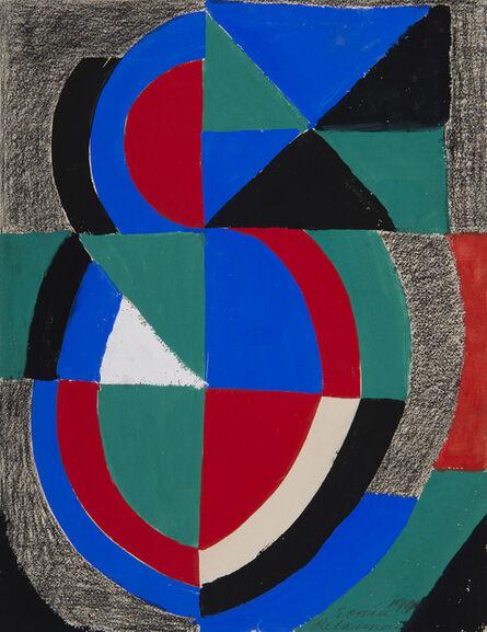 Sonia Delaunay, 'Rythme couleur', 1966