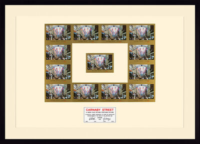 Gilbert and George, 'Carnaby street', 2009