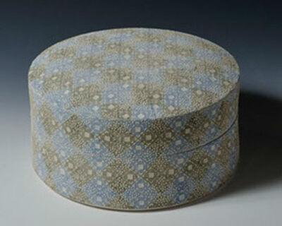 Yamaji Kazuo, 'Round Box with Small Patterns', 2014