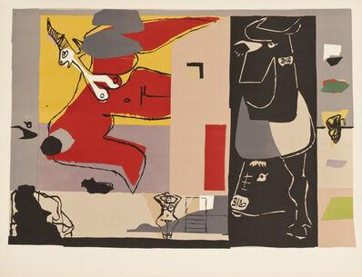 Le Corbusier, 'Femme Unicorne et Taureau Noir', 1960