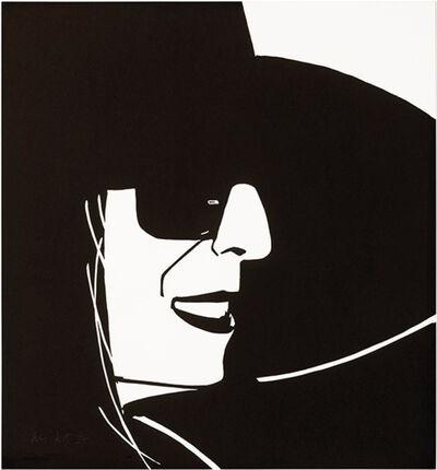 Alex Katz, 'Black Hat (Ada)', 2012