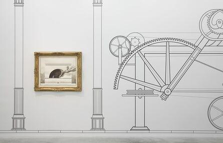 Pablo Bronstein (b. 1977), 'Copeland Spode Porcelain Factory (foreground); 1720 - 1820 (back ground)', 2014