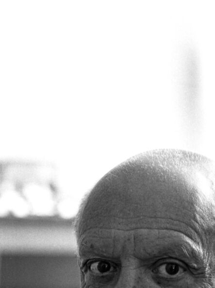 André Villers, 'The eyes of Picasso, Cannes', 1956