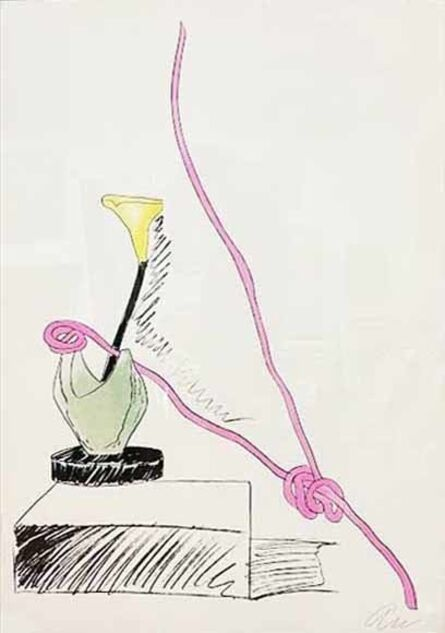 Andy Warhol, 'Flowers (Hand-Colored): one plate', 1974