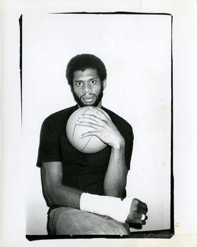 Andy Warhol, 'Kareem Abdul-Jabbar', 1977