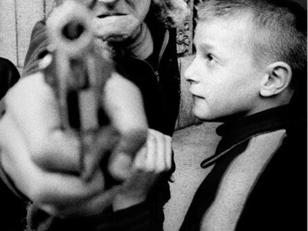 William Klein, 'Gun 1, New York', 1954