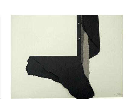 Concha Jerez, 'Self-censored Intersection #2', 1975