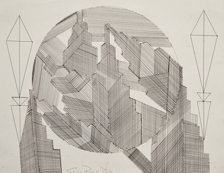 Jorge Pablo Hernandez, 'The Financial World', 2017