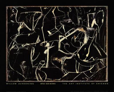 Willem de Kooning, 'Untitled (Black and White)', 1991