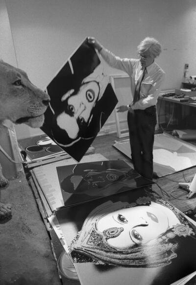 Robert Levin, 'Andy Warhol Holding Dracula Myth 1981', 2015