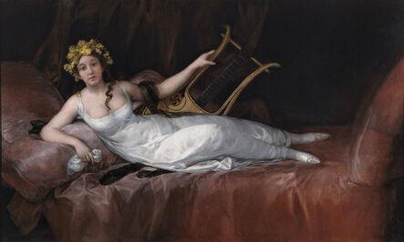 Francisco de Goya, 'The Marchioness of Santa Cruz', 1805