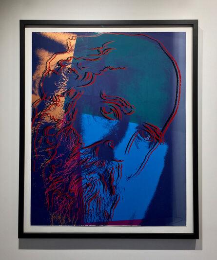 Andy Warhol, 'Martin Buber (F&S II.228)', 1980