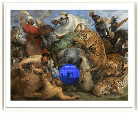 Jeff Koons, 'Gazing Ball (Rubens Tiger Hunt)', 2017