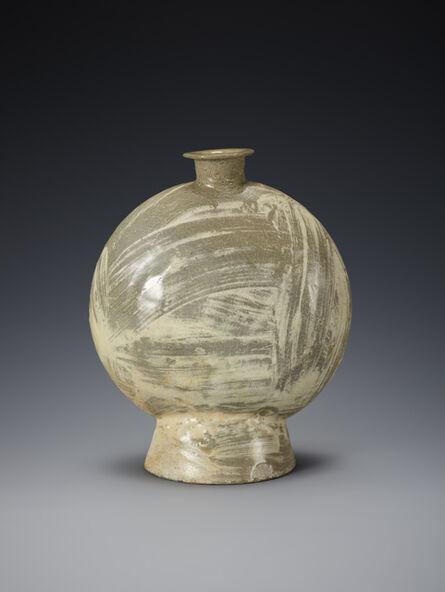 Unknown Artist, 'Buncheong Bottle', Joseon Dynasty-16th century