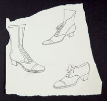 Andy Warhol, 'Shoes', ca. 1956