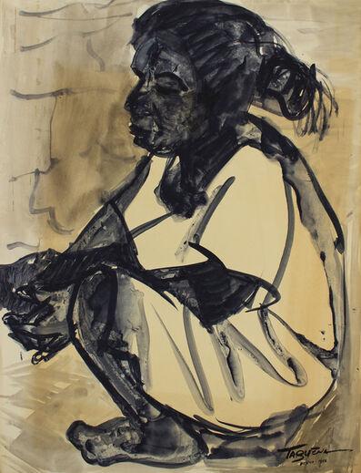 Romeo Tabuena, 'Niña Sentada', 1956