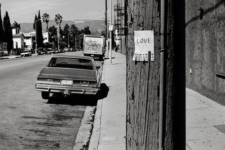 Rémi Noël, 'Love, Los Angeles California', 2009