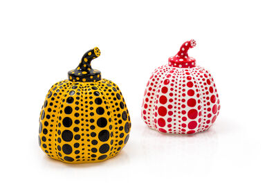 Yayoi Kusama, 'Pumpkins (Yellow and Red) (a pair of works)', 2013