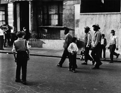 Roger Mayne, 'West Indians, Southam Street, North Kensington, London', 1956