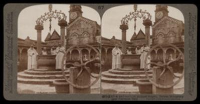 Bert Underwood, 'A well-curb by Michaelangelo, Certosa Monastery near Florence', 1900