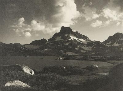 Ansel Adams, 'Banner Peak, Thousand Island Lake', 1923