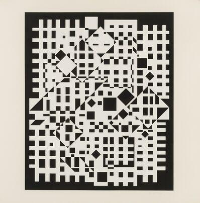 Victor Vasarely, 'Citra Neg', 1959