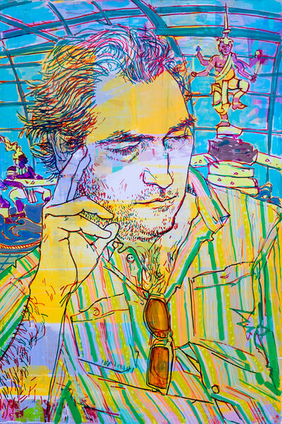 Hope Gangloff, 'Study for Search at Suvarnabhumi Airport', 2016