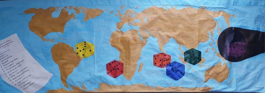 Jana Wendt, 'Spielregeln für den Weltfrieden,', 2019