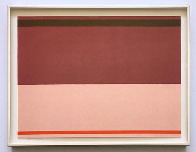 Kenneth Noland, 'Untitled', 1973