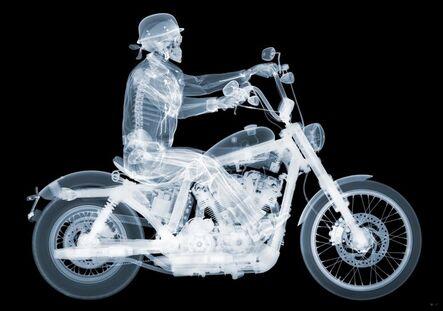 Nick Veasey, 'Harley Davidson 72 Rider', 2014