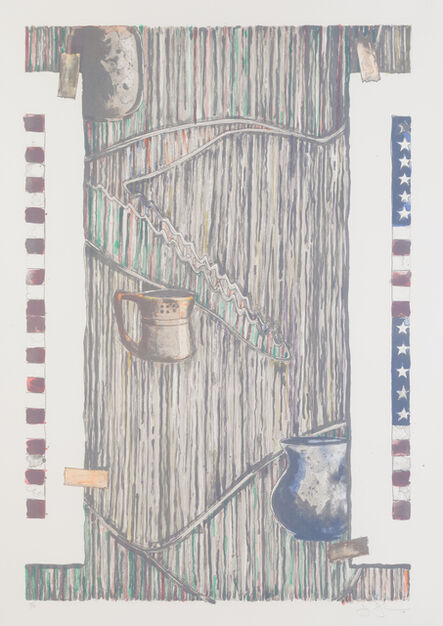 Jasper Johns, 'Ventriloquist', 1985