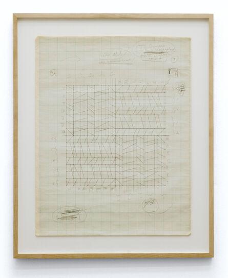 Hanne Darboven, 'Perforation, Konstruktion', 1966-1967