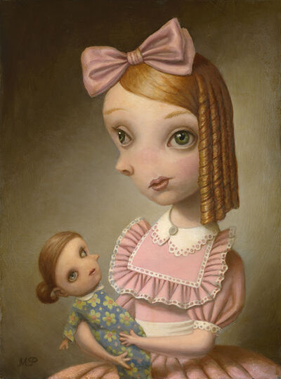 Marion Peck, 'Girl Holding a Doll'
