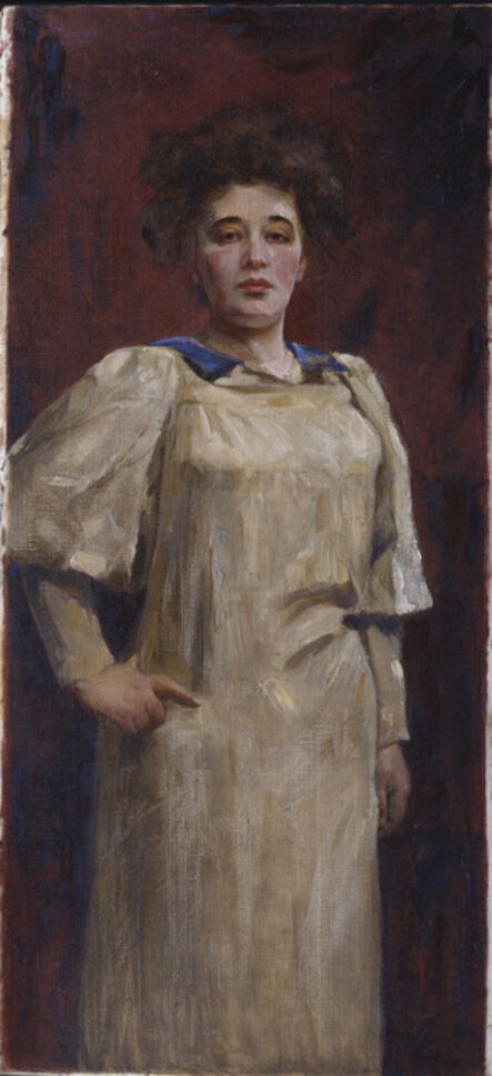 Teresa Feodorowna Ries, 'Self Portrait', 1902