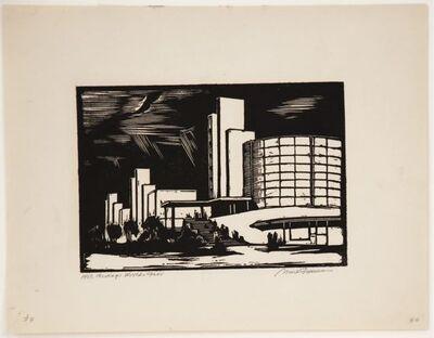 Mark Freeman, 'Chicago Worlds Fair (#5): General Exhibition(Portfolio of 6)', 1933