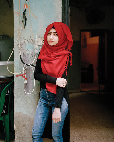 Rania Matar, 'Samira 17, Bourj El Barajneh Refugee Camp, Beirut Lebanon.', 2016