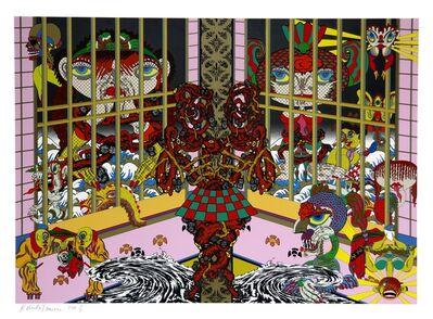 Keiichi Tanaami, 'Lost and Wandering Bridge Series No. 9', 2011