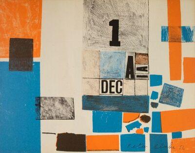Peter Blake, 'Composition (trompe l'oeil collage)', 1956