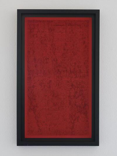 Bernard Aubertin, 'Tableau clou', 1969